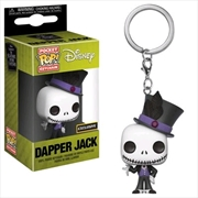 The Nightmare Before Christmas - Jack Dapper US Exclusive Pocket Pop! Keychain [RS] | Pop Vinyl