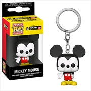 Mickey Mouse - 90th Mickey (New) Pop! Keychain | Pop Vinyl