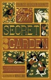 Secret Garden (Illustrated With Interactive Elements)   Hardback Book