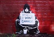 Banksy - I Want Change | Merchandise