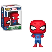 SpiderMan - SpiderMan w/Ugly Sweater Pop! | Pop Vinyl