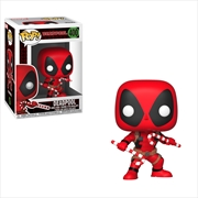 Deadpool - Deadpool w/Candy Canes Pop! | Pop Vinyl