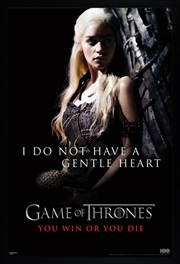 Game Of Thrones - Gentle Heart | Merchandise