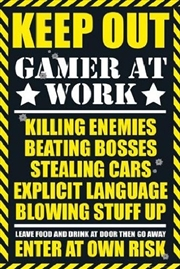 Gaming - Warning Sign | Merchandise