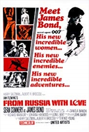James Bond-From Russia With Love | Merchandise