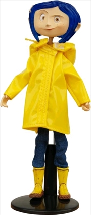 Coraline - Coraline Rain Coat Bendy Fashion Doll | Merchandise