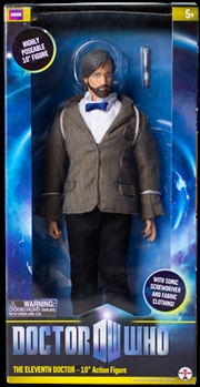 """Doctor Who - Eleventh Doctor 10"""" Figure (With Beard) Action Figure 