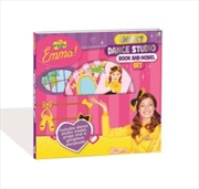 Wiggles Emma! Dance Studio Book and Model Kit | Hardback Book