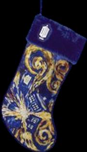 Doctor Who - TARDIS Starry Night Stocking | Apparel