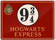 Harry Potter - Tin Sign Small Hogwarts Express