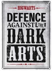 Harry Potter - Tin Sign Small Dark Arts