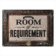Harry Potter - Tin Sign Small Room of Requirement