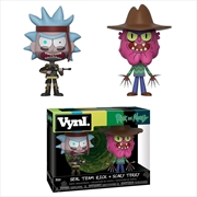 Rick and Morty - SEAL Rick & Scary Terry Vynl. | Merchandise
