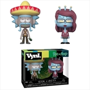 Rick and Morty - Rick with Sombrero & Unity Vynl. | Merchandise