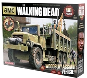 The Walking Dead - Woodbury Assault Vehicle Building Set | Collectable