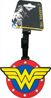 Wonder Woman - Logo Luggage Tag | Miscellaneous