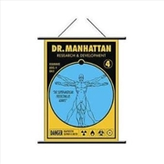 Watchmen - Wall Scroll Dr Manhattan Pop Art | Merchandise
