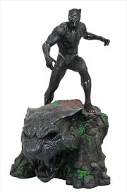 Marvel Milestones - Black Panther Movie Statue | Merchandise