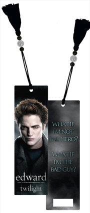 Twilight - Bookmark Edward Poster | Merchandise