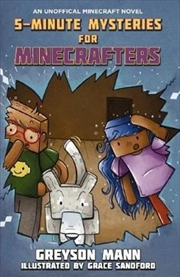 5-Minute Mysteries for Minecrafters | Paperback Book