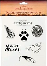 The Twilight Saga: Breaking Dawn - Part 1 - Temporary Tattoo Jacob | Miscellaneous