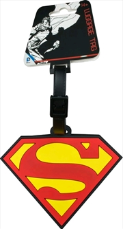 Superman - Logo Luggage Tag | Miscellaneous