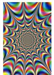 Colour Fractal Poster | Merchandise