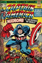 Marvel Comics - Captain America Mad Bomb | Merchandise