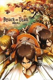 Attack On Titan Attack Poster
