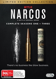 Narcos - Season 1-3