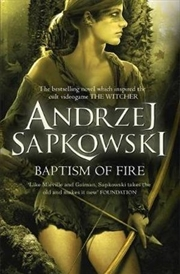 Baptism of Fire The Witcher : Book 3 | Paperback Book