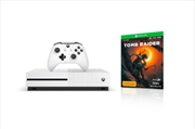 Xbox One Console S 1TB with Shadow of the Tomb Raider