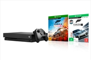 Xbox One Console X with Forza Horizon 4 + Forza Motorsport 7