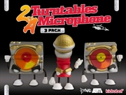 Kidrobot - 2 Turntables and a Microphone Mini 3 Pack