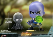 Avengers 3: Infinity War - Thanos & Vision Cosbaby Set