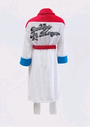 "Suicide Squad - Harley Quinn ""Daddy's Lil Monster"" Hoodless Robe"