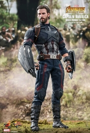 "Avengers 3: Infinity War - Captain America 12"" 1:6 Scale Action Figure"