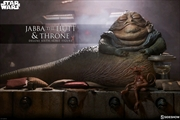 Star Wars - Jabba the Hutt & Throne 1:6 Action Figure | Merchandise
