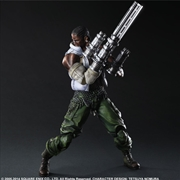 Final Fantasy VII - Advent Children Barret Play Arts Action Figure | Merchandise
