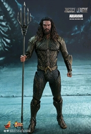 "Justice League Movie - Aquaman 12"" 1:6 Scale Action Figure 