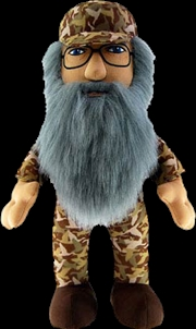 """Duck Dynasty - 24"""" Si Plush with Sound   Toy"""