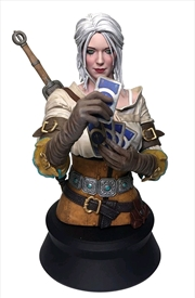 The Witcher 3 - Ciri Playing Gwent Bust
