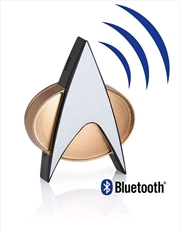 Star Trek: The Next Generation - Communicator Badge Bluetooth Prop Replica | Collectable