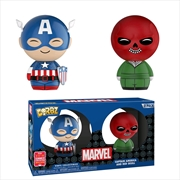 Captain America - Captain America & Red Skull SDCC 2018 US Exclusive Dorbz 2-pack [RS]