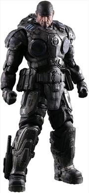 Gears of War - Marcus Fenix Play Arts Figure | Merchandise