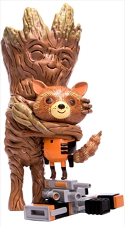 "Guardians of the Galaxy - Rocket & Groot Treehugger 9"" Vinyl Figure 