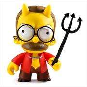 The Simpsons - Devil Flanders Medium Vinyl Figure | Merchandise