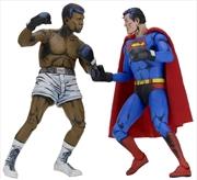 """Superman vs Muhammad Ali - 7"""" Figure 2-Pack"""
