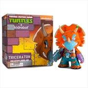 Teenage Mutant Ninja Turtles - Triceraton Medium Figure | Merchandise