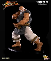 Street Fighter - Gouken Mixed Media 1:4 Scale Statue